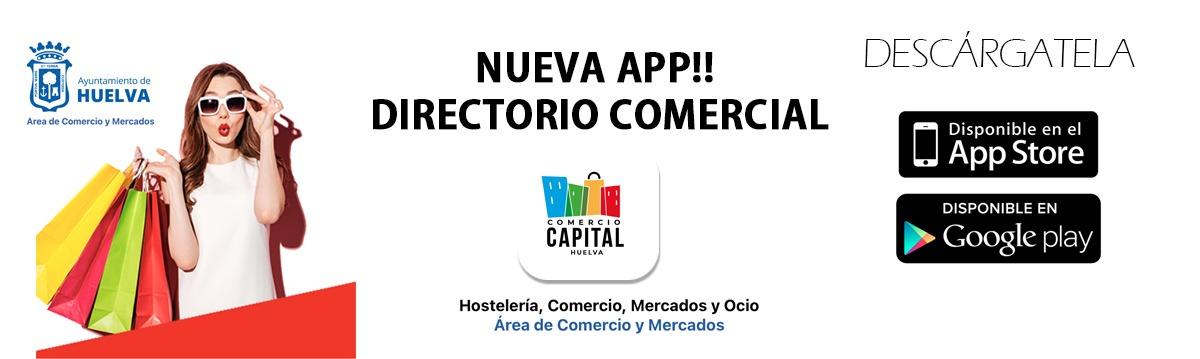 Descárgate la nueva App Comercio Capital Huelva