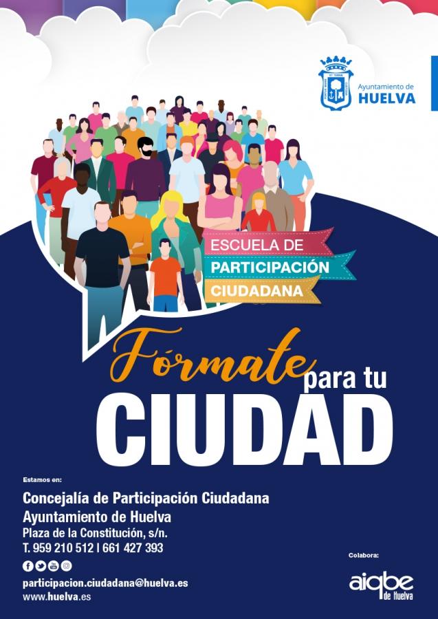 cartel Escuela Participación Ciudadana