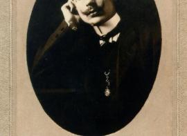 Francisco Macías, 1910. Foto de V Garcés