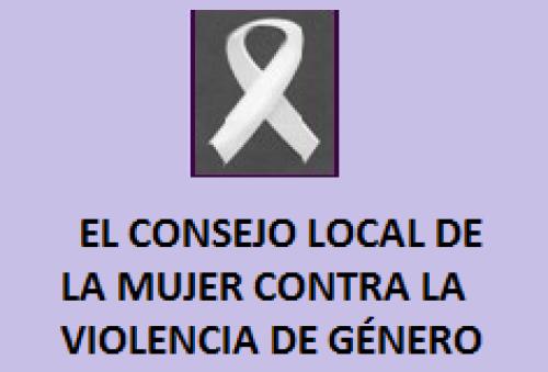 El consejo local de la mujer contra la violencia de género