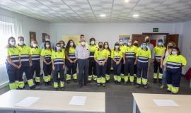 Clausura Escuela de Oficios Ferrovial Servicios